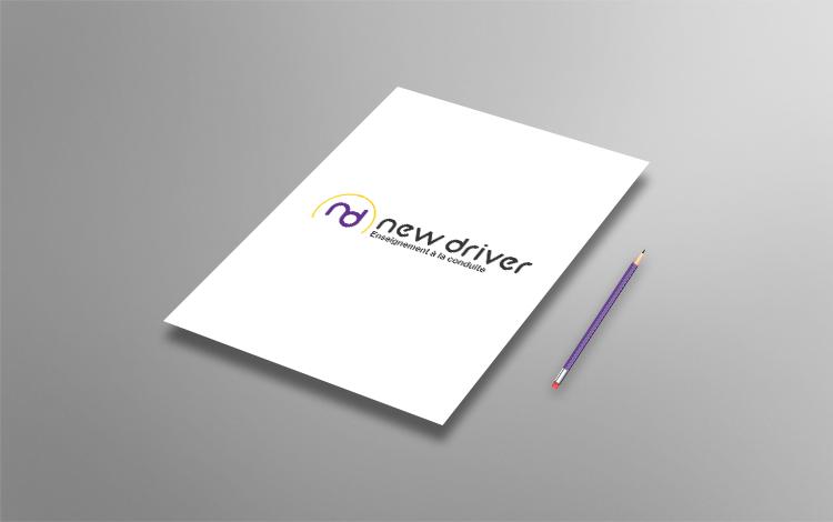 Création logo - Auto-école à Lieusaint