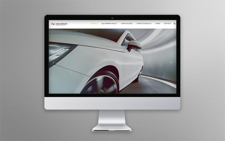 Création site Internet WordPress - Auto-école Seine-et-Marne