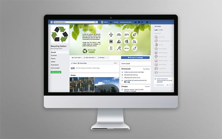 Création banner Facebook - Association eco-responsable