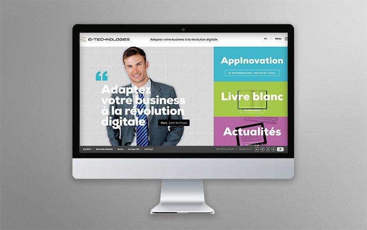 Mise à jour régulière du contenu, site Internet WordPress - EIT