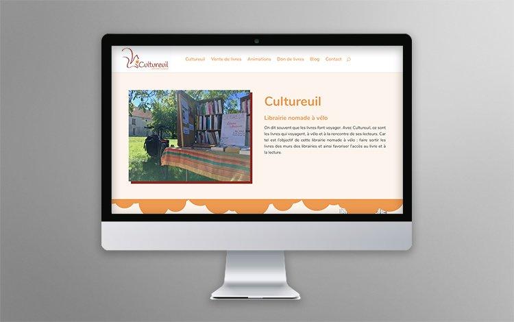 Webdesign et Création site Internet WordPress - Librairie nomade en essonne